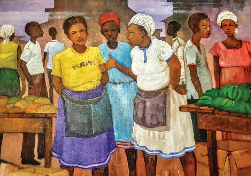 Tripotaj - Gary Laurant: Remembering Haiti II, January - July 2017
