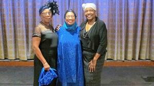 P.E.C. Board Member & NYN (l) Godfrey, NYN & Franqois